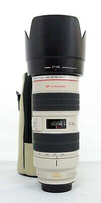 "# Canon EF 70-200mm f/2.8 L IS USM Lens ""Mint"" S/N 356046"