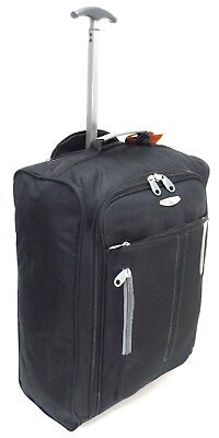 CABIN TRAVEL BAG WHEELED LIGHTWEIGHT SUITCASE HAND LUGGAGE TROLLEY HOLDALL CASE for sale  Shipping to United States