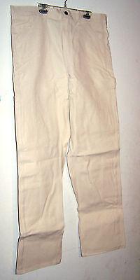 Caboose Men's Painter Pants - natural W/tool Loop & Extra Pockets -