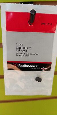 Radioshack 276-1715 Tl082 Dual Bifet Op Amp 2761715
