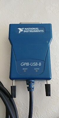 National Instruments Ni Gpib-usb-b Interface Adapter