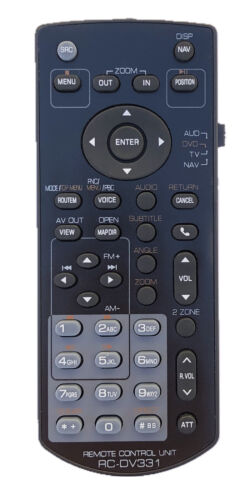 New Usbrmt Remote Rc-dv331 For Kenwood Receiver Dnx5190 Dnx6180 Dnx7020ex