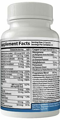 Mind Tech Nootropic Technologies Mindtech Brain Booster Supplement 60 Capsule... 1