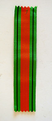 British World War II Defence Medal Ribbon 6 Inches Original British Govt. Issue