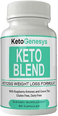 Keto Genesys Keto Blend Weight Loss Pills Advanced Diet Capsules Thermal Weig...