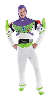 Buzz Lightyear Luxus Erwachsene Herren Kostüm Disney Toy Story Disguise 50549 (Herren Buzz Lightyear Kostüm)