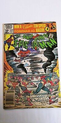 Amazing Spider-Man #222 1st App Speed Demon Simonson Cover 1981 Marvel Comics