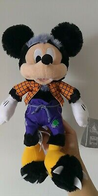 Halloween Disney Collectable Mickey Mouse Plush In Original Disney Tags!!!