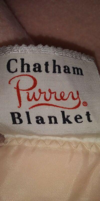 Chatham Purrey Full Size Blanket
