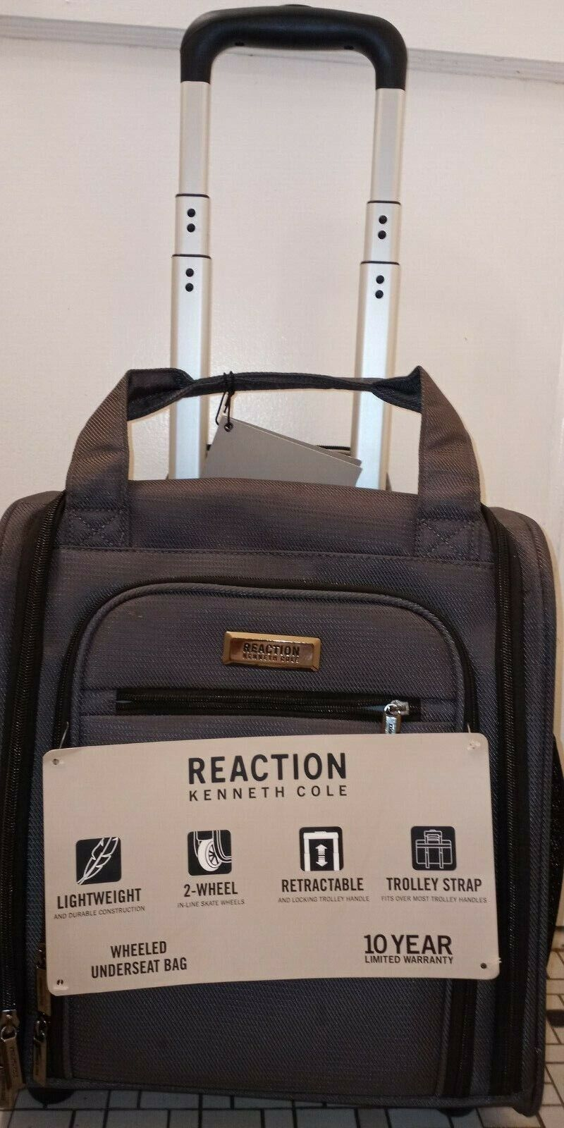 reaction wheeled underseat bag