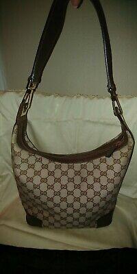 Authentic Vintage Gucci Monogram Handbag
