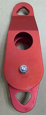 New Rescue Systems Inc. Rsi 3 Double Sheave Pulley With Becket - Red