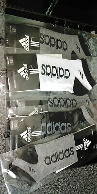 5   x pack of adidas  ankle sports socks