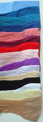 Sheer Thigh High Hi Stockings Sexy Nylons Hosiery Regular or Plus Size 1725