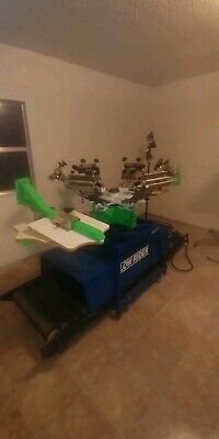 Lowrider Screen Printing Machine