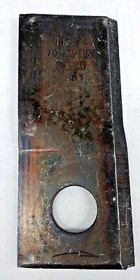 Bx25 Claas Disco 115 X 4 3d1 Disc Mower Blade 11 Opposite Bevel