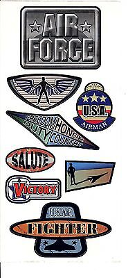 SS 18175 - Air Force Basic Scrapbook Stickers