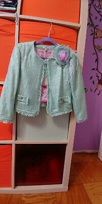 Miss Grant Light Green Jacket. Sz 32. (7 yrs)