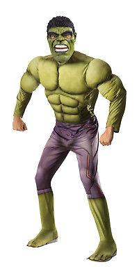 Adult Deluxe Hulk Costume Avengers Marvel Superhero Adult Size - Adult Deluxe Hulk Kostüm