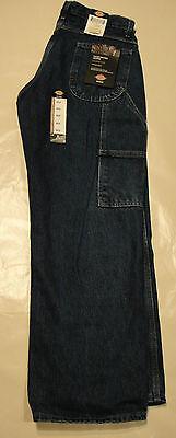 DICKIES Men's DU310 LOOSE Fit Carpenter Jeans 30 31 32 33 34 36 38 40 42 NWT Loose Carpenter Jeans