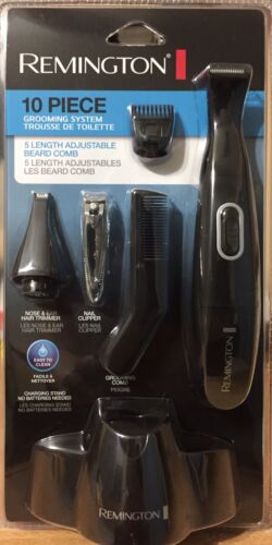 Remington PG-175 Titanium 10-Piece Personal Groomer