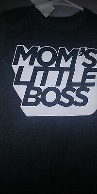 Nwt childrens place boys 5t Mom's little boss shirt. Have 3 same size available