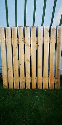 2 x wooden Garden Gates For Sale. Never Used.35.