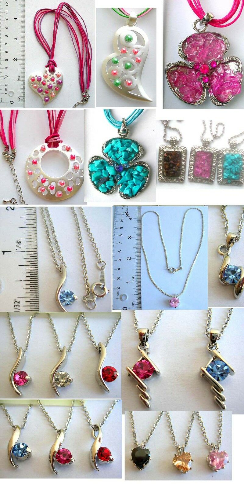 US SELLER 50 centsper necklace lot of 100 necklaces wholesale jewelry lot