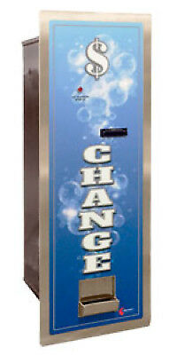 Change Machine Standard Mc300rl Coinco Dba Hopper Load Bill Changer In Wall