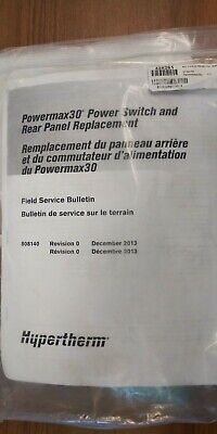 Hypertherm Powermax 30 Rear Panel 428261
