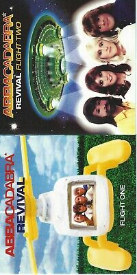 """ABBACADABRA REVIVAL Flight One & Flight Two - 2 CD Collection 12"""" Long Play ABBA"""