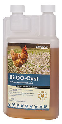Bi-OO-Cyst Coccidiosis Disinfectant Poultry Hens Coops