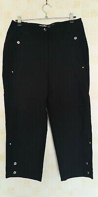"Women's Jamie Sadock Golf Capri Cropped Stretch Trousers RN92499 W28"" x L20"" CB1"