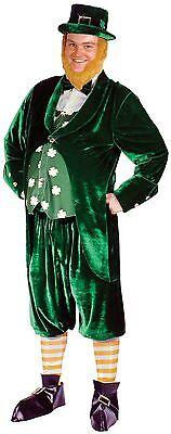 FANCY DRESS MENS LUCKY LEPRECHAUN BIG BELLY LEPRECHAUN - ONE SIZE FITS - Big Belly Kostüm
