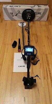 Metalldetektor C.Scope CS-R1 Metallsuchgerät Metal Detector Militaria 2x Spule