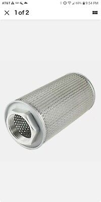 Metal Hydraulic Suction Line Filler Breather Filters Mf-16 2pt