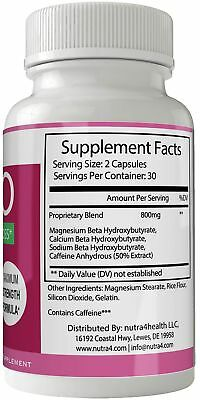 Bio X Labs Keto Diet Pills Advanced Weight Loss Supplement - Bio x Keto Weigh... 1