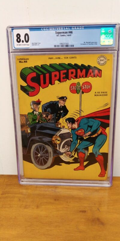 Superman #46 1947 CGC 8.0 - DC Comics / Golden Age BEAUTY!!!