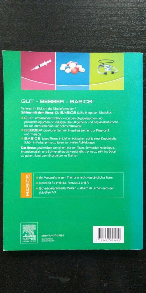 BASICS Anästhesie, Intensivmedizin und Schmerztherapie in Bielefeld - Schildesche