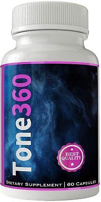 Tone 360 Fat Burner Quemador de Grasa | Tone 360 Pastillas para Bajar de Peso...