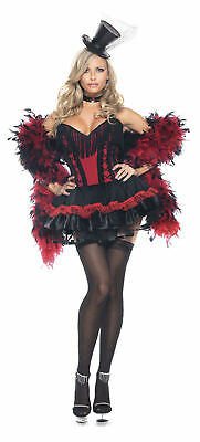 Sexy Adult Halloween Women's Speak Easy Saloon Girl Costume - Easy Woman Costume Halloween