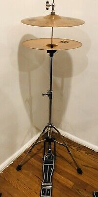 """B8 Sabian Hi-Hats 13"""" Cymbal And Hi-Hat Stand & Foot Pedal for sale  Moorpark"""