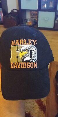 Black Harley-Davidson Hat