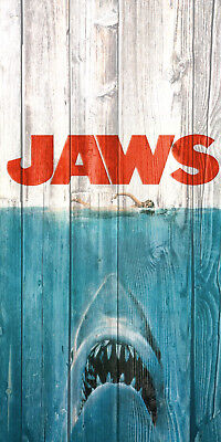 Jaws Movie Poster Indoor Outdoor 13Oz Heavy Duty Vinyl Banner  954