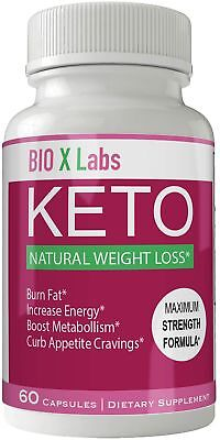 Bio X Labs Keto Diet Pills Advanced Weight Loss Supplement - Bio x Keto Weigh...