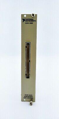 National Instruments Scxi-1200 Analog Input Module Data Acquisition 182415f-01