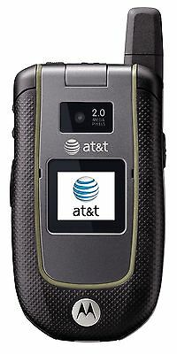Motorola Tundra VA76r - Black Gray (AT&T) Cellular Phone