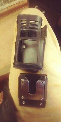 Motorola Radio Holster With Swivel Belt Clip New All Leather Heavy Duty