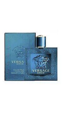 Versace Eros EDT Spray 50ml Men's Sealed New In Box 100% Genuine
