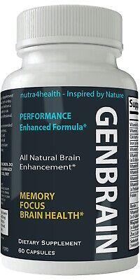 Genbrain Focus Memory Brain Health Pro Mind Complex Mind Tech Nootropic